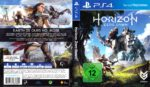 Horizon Zero Dawn (2017) German PS4 Cover & Label