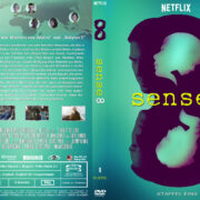 Sense8 Staffel 1 (2016) R2 German Custom Cover & Labels