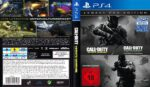 Call of Duty Infinite Warfare (Legacy Pro Edition) (2016) German Custom PS4 Cover & Label