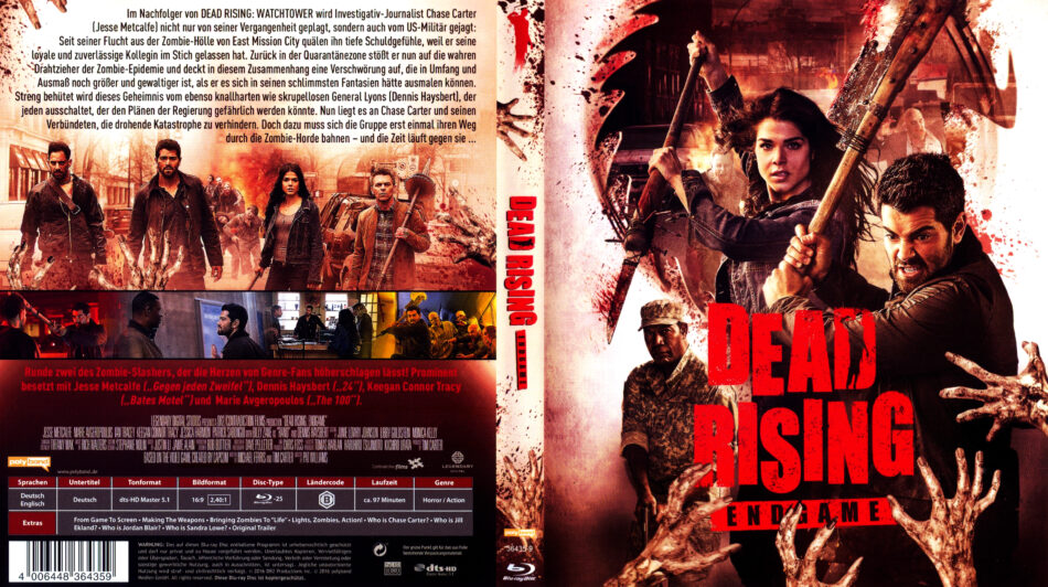 Dead Rising Endgame Blu Ray Covers 2016 R2 German