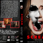 Scream TV-Series Staffel 2 (2016) R2 German Custom Cover & labels