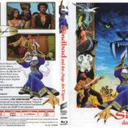 Sindbad und das Auge des Tigers (1977) R2 German Blu-Ray Cover & Label