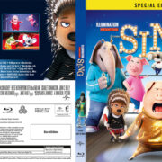 Sing (2016) R2 Swedish Retail Blu-Ray Cover + Custom Label