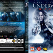 Underworld: Blood Wars (2016) R2 Nordic Retail Blu-Ray Cover + Custom Label