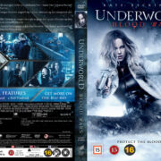 Underworld: Blood Wars (2016) R2 Nordic Retail DVD Cover + Custom Label