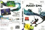 Disney Epic Mickey (2010) German Wii Cover