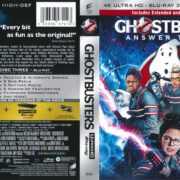 Ghostbusters – Answer The Call (Combo Pack) (2016) R1 Blu-Ray Cover