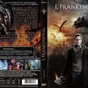 I, Frankenstein (2014) R2 GERMAN DVD Cover