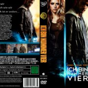 Ich bin Nummer Vier (2011) R2 GERMAN Custom DVD Cover