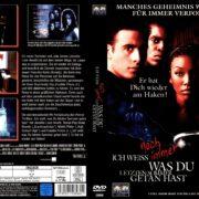 Ich weiss noch immer was du letzten Sommer getan hast (1998) R2 GERMAN DVD Cover