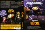 Igor (2009) R2 GERMAN DVD Cover