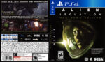 Alien Isolation (2014) USA PS4 Cover