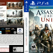 Assassin's Creed Unity (2014) USA PS4 Cover