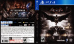 Batman Arkham Knight (2015) USA PS4 Cover