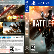 Battlefield 1 (2016) USA PS4 Cover