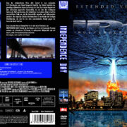 Independence Day (Extended Version) (1996) R2 GERMAN DVD Cover
