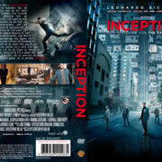 Inception (2010) R2 GERMAN Custom DVD Cover