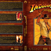 Indiana Jones Collection (1-4) (2008) R2 GERMAN Custom DVD Cover