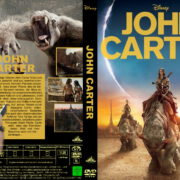 John Carter – Zwischen zwei Welten (2012) R2 GERMAN Custom DVD Cover