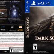 Dark Souls II Scholar of the First Sin (2015) USA PS4 Cover