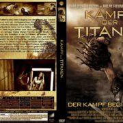 Kampf der Titanen 3D (2008) R2 GERMAN Custom DVD Cover
