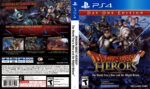 Dragon Quest Heroes: The World Tree's Woe and the Blight Below (2015) USA PS4 Cover