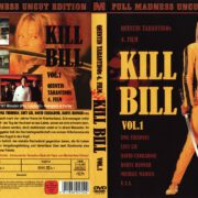 Kill Bill Vol. 1 (Full Madness Uncut Edition) (2003) R2 GERMAN DVD Cover