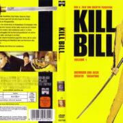 Kill Bill Vol. 1 (2003) R2 GERMAN DVD Cover