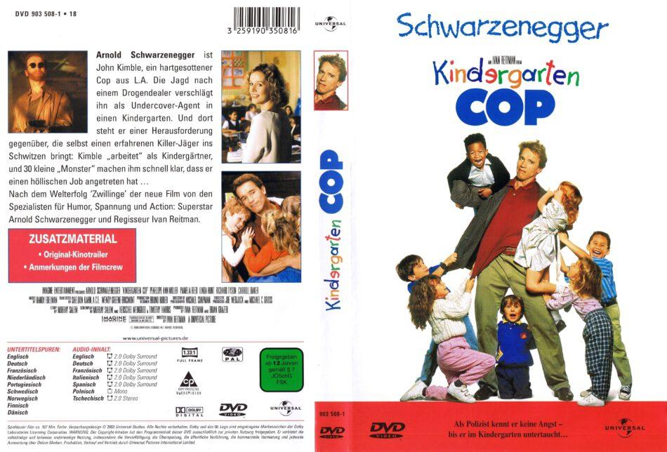 Kindergarten Cop Dvd Cover 1990 R2 German