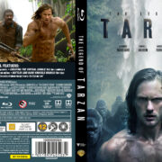 The Legend of Tarzan (2016) R2 Nordic Blu-Ray Custom Cover + label