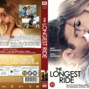 The Longest Ride (2015) R2 Nordic Retail DVD Cover + Custom Label