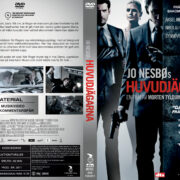 Headhunters (2011) R2 Swedish Retail DVD Cover + Custom Label