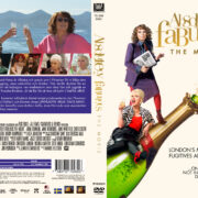 Absolutely Fabulous: The Movie (2016) R2 Swedish Custom Cover + label