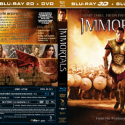 Immortals (2011) R2 Swedish Retail Blu-Ray Cover + Custom Label
