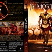 Immortals (2011) R2 Swedish Retail DVD Cover + Custom Label