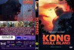 Kong-Skull Island (2017) R0 Custom DVD Cover & Label