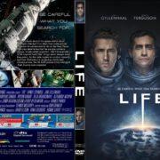 Life (2017) R0 CUSTOM Cover & Label