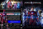 Power Rangers (2017) R0 CUSTOM DVD Cover & Label