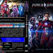 Power Rangers (2017) R0 CUSTOM DVD Cover & Label