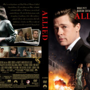Allied (2016) R2 Swedish Custom Cover + label