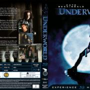 Underworld (2003) R2 Nordic Retail Blu-Ray Cover + Custom Label