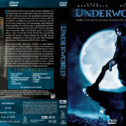 Underworld (2003) R2 Swedish Retail DVD Cover + Custom Label