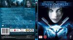 Underworld: Evolution (2006) R2 Nordic Retail Blu-Ray Cover + Custom Label