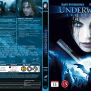 Underworld: Evolution (2006) R2 Nordic Retail Blu-Ray Cover + Custom Label