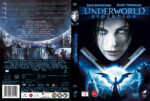 Underworld: Evolution (2006) R2 Nordic Retail DVD Cover + Custom Label