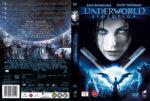 Underworld: Evolution (2006) R2 Nordic Retail DVD Cover + Custom Label