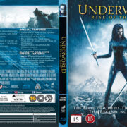 Underworld: Rise of the Lycans (2009) R2 Nordic Retail Blu-Ray Cover + Custom Label