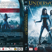 Underworld: Rise of the Lycans (2009) R2 Nordic Retail DVD Cover + Custom Label