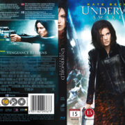 Underworld: Awakening (2012) R2 Nordic Retail Blu-Ray Cover + Custom Label