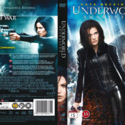 Underworld: Awakening (2012) R2 Nordic Retail DVD Cover + Custom Label